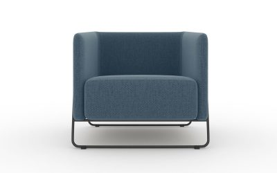 Friant Soft Seating Hanno Lounge Chair Render