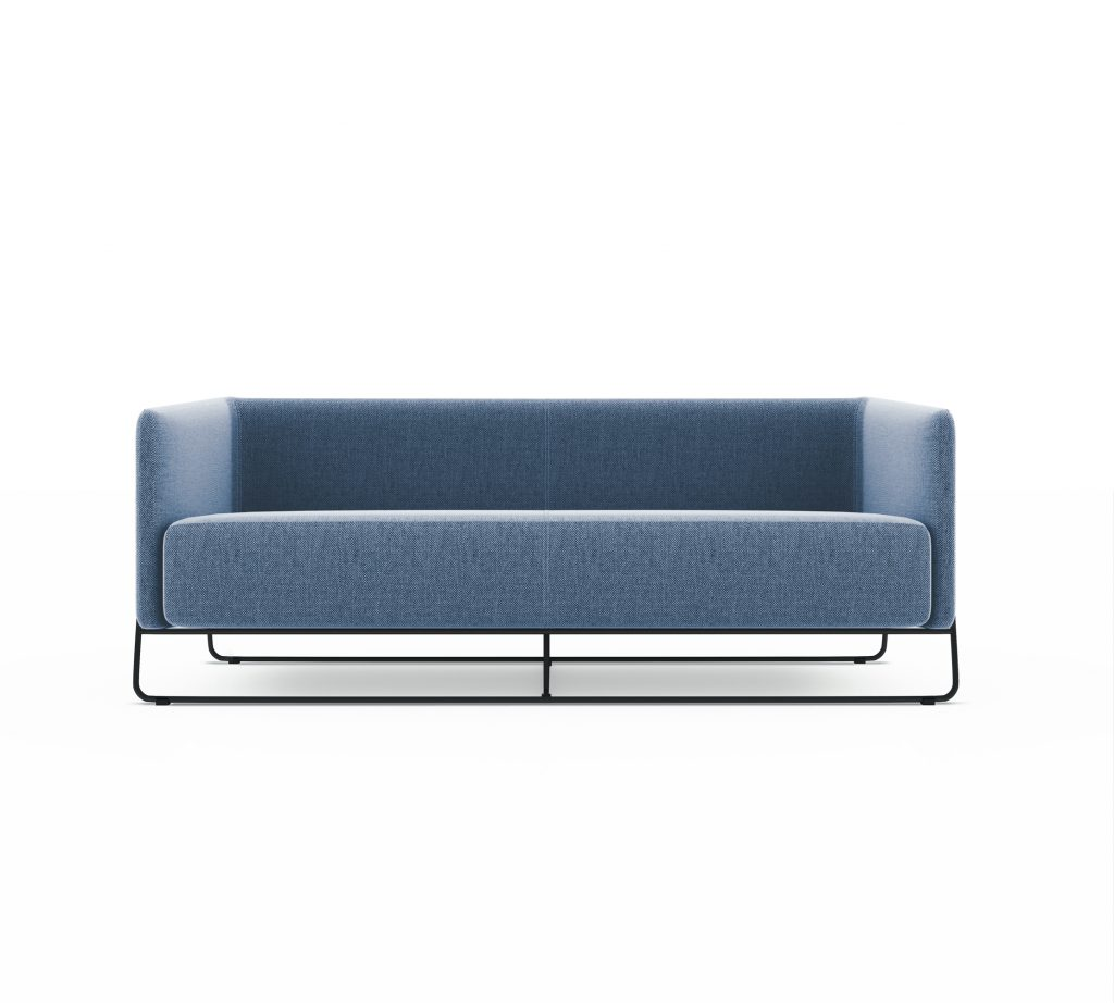 Friant Furniture Soft Seating Hanno Render - Sofa