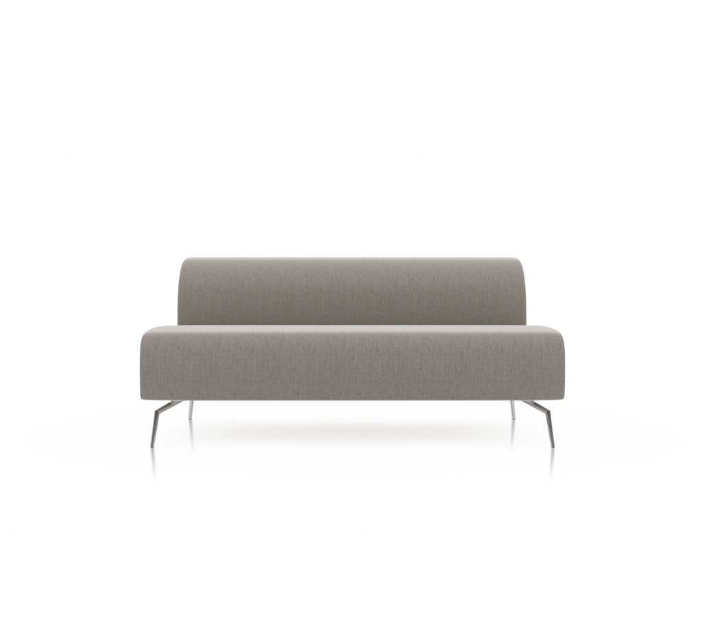 Friant Furniture Soft Seating Jot Render - Double Middle Sectional