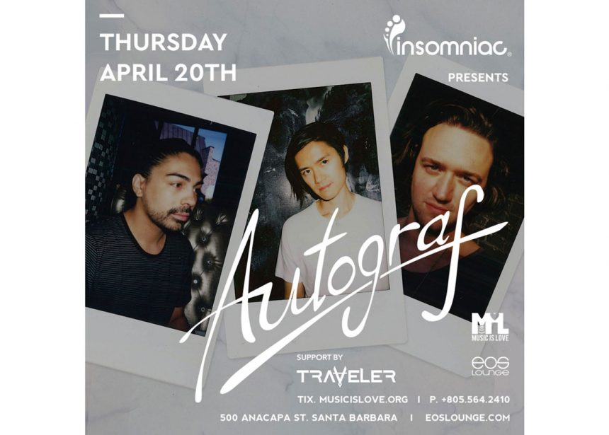 Traveler Opening For Autograf This Thursday!