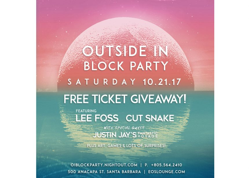 WIN FREE TICKETS TO OUR BLOCK PARTY